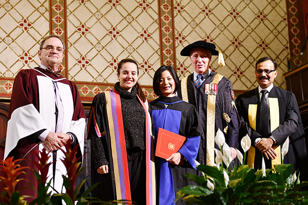 [Reeta Roy honorary degree]