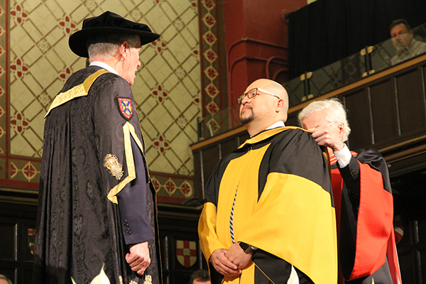 Honorary Degree: Fredy Peccerelli