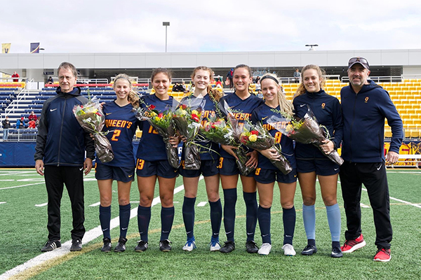 Gaels women's soccer team finishes weekend with six points