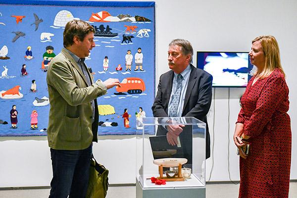SSHRC president visits Queen's