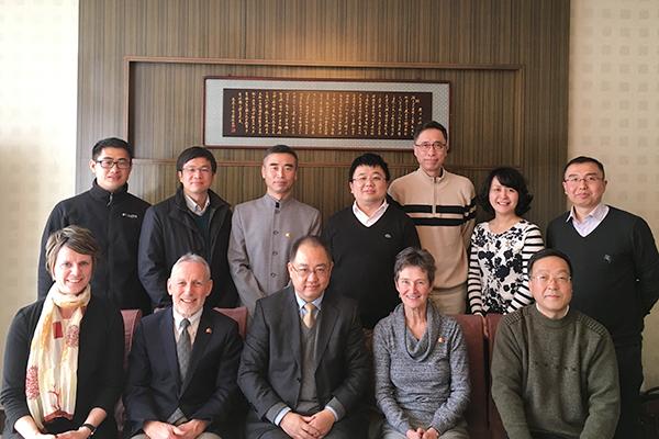 Trip bolsters ties in China