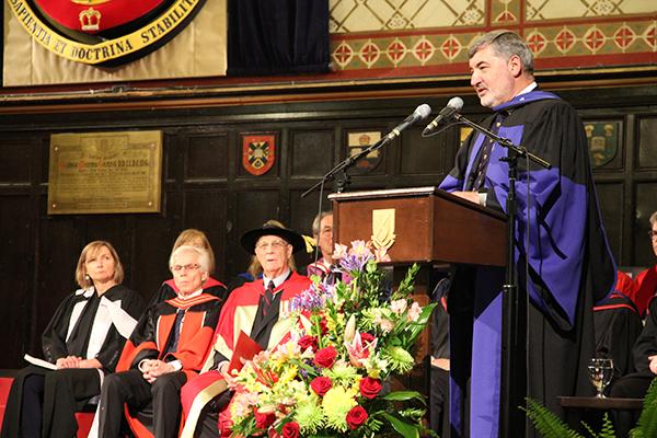 Honorary Degree: Lord John Alderdice