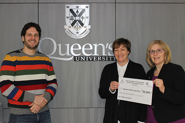 A boost for Queen's Elder Law Clinic