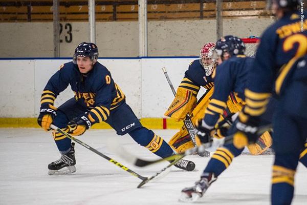 Gaels battle back for OT win in men's hockey