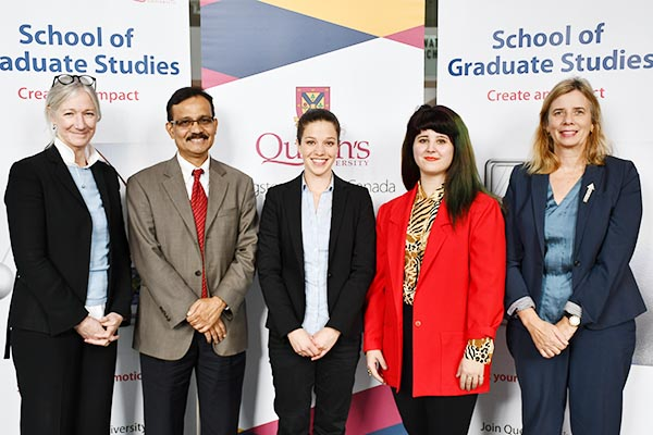 Queen's graduate research goes global with Matariki 3 Minute Thesis