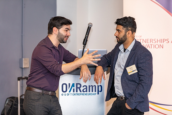 Opportunities to connect at ONRamp