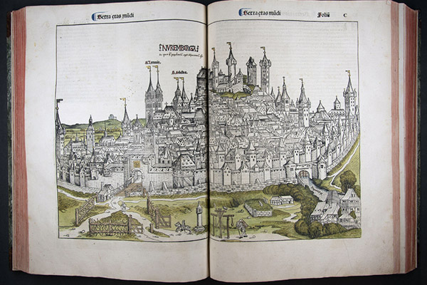 Opening up the Nuremberg Chronicle