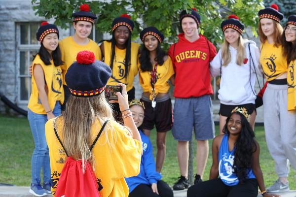 Orientation concludes with weekend events