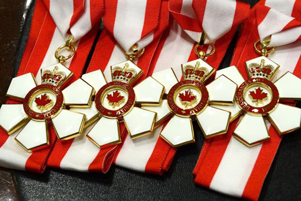 Queen's celebrates Order of Canada recipients