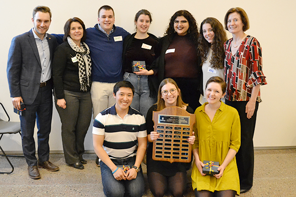 [Peer Leadership Award - Sexual Violence Bystander Intervention trainers]