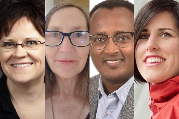Four professors receive one of the highest Canadian academic honours
