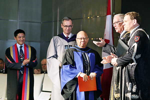 [Hong Kong re-convocation - honorary degree]