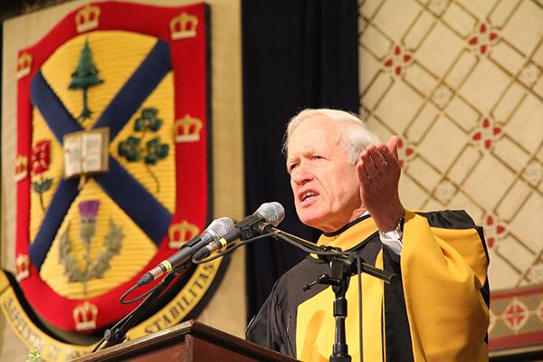 Honorary Degree: Sir David Skegg