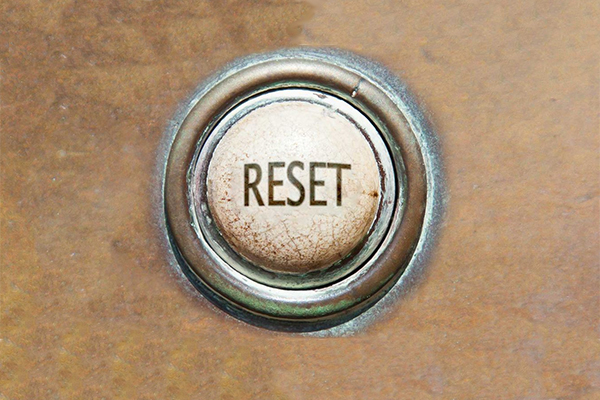 Time to work on your company's reset strategy