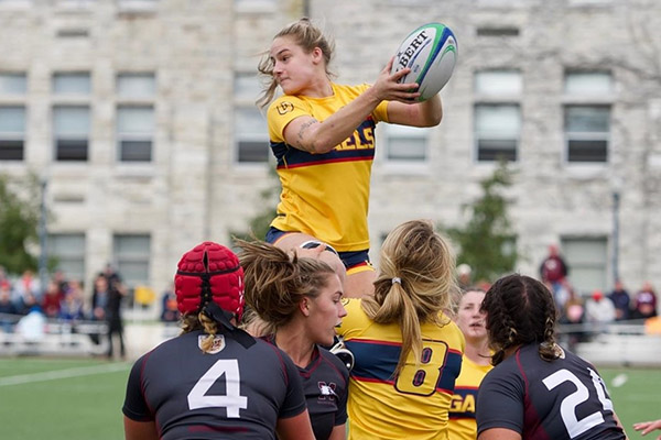 Gaels power into OUA women's rugby final