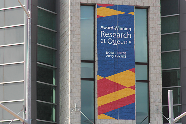 Supporting research at Queen's University
