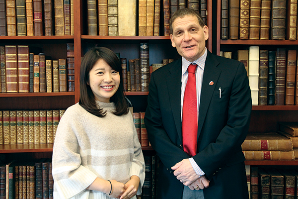 Scholarship connects Japan, Queen's