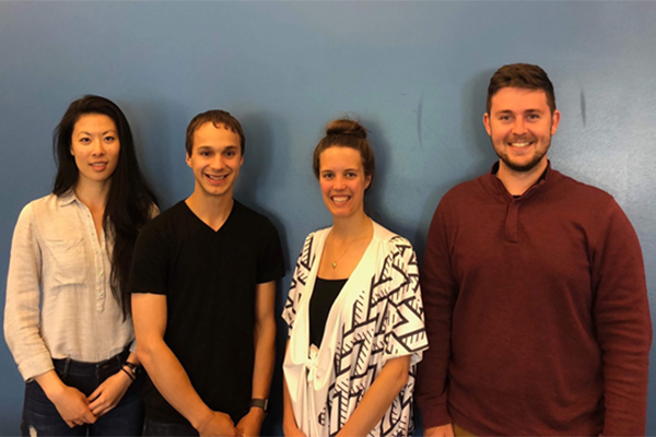 Graduate student team SWIM's into AquaHacking Challenge final