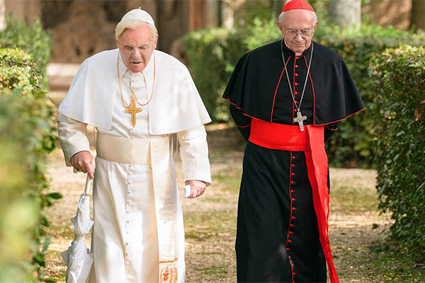 Beautifully set, 'The Two Popes' omissions leave me with a taste of exclusion