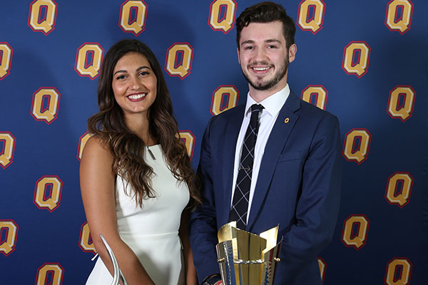 Kamal and Baum lead the way at varsity clubs awards