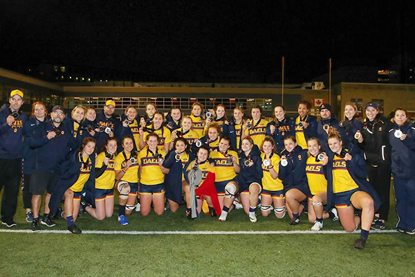 Gaels strike silver at women's nationals