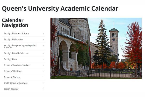 Academic Calendar goes digital