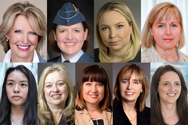 Nine alumnae among Canada's 100 Most Powerful Women