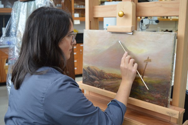 Revolutionizing art conservation at Queen's