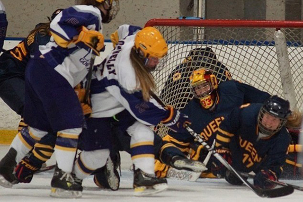 SPORTS ROUNDUP: Women's hockey team tumbles out of playoffs