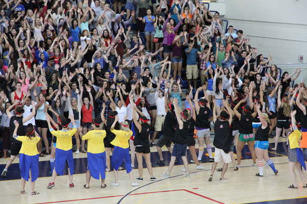 Staff and students prepare for orientation week