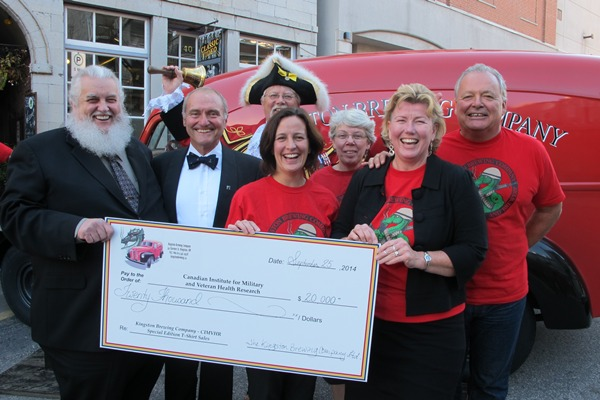 Mission accomplished for veteran research fundraiser