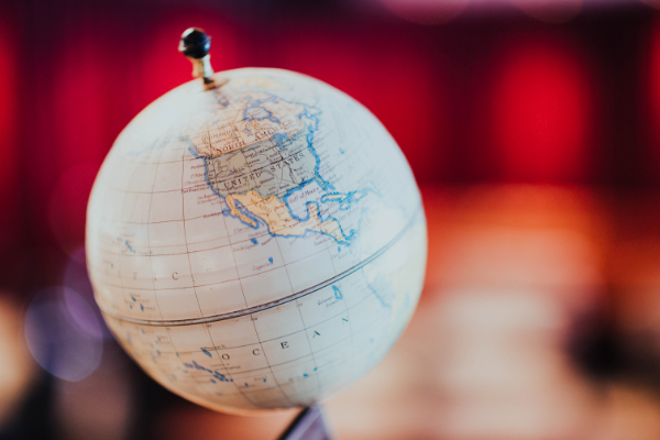 Globe (Photo by: Chuttersnap on Unsplash)