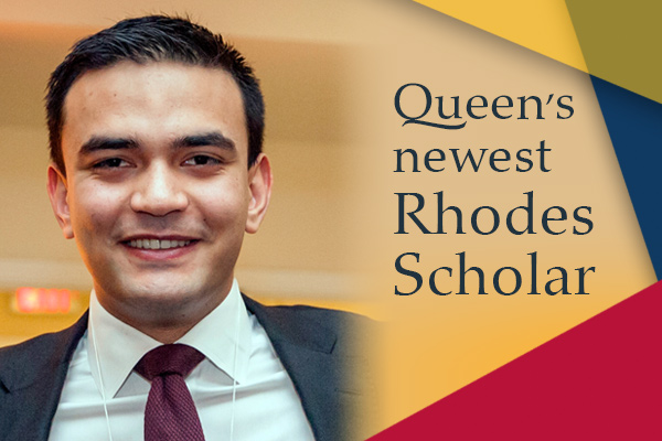 Queen's engineering grad named Rhodes Scholar