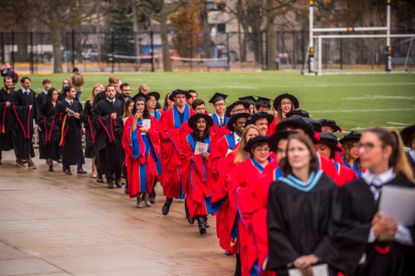 Graduate convocation