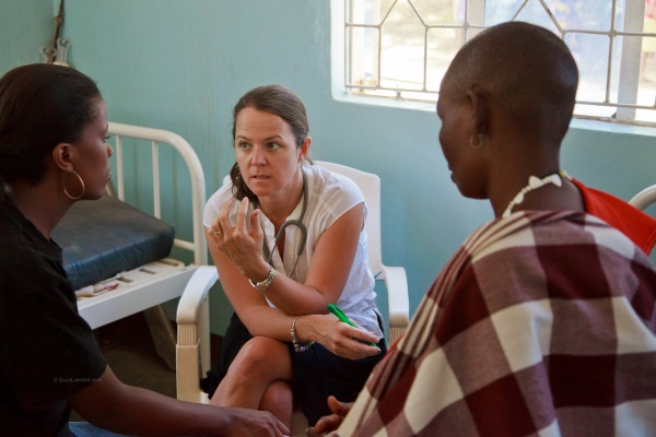 Dialed in to Tanzanian health care