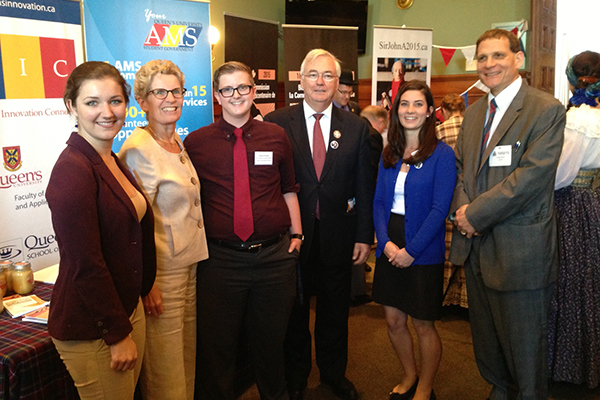 Queen's participates in Kingston Advocacy Day at Queen's Park