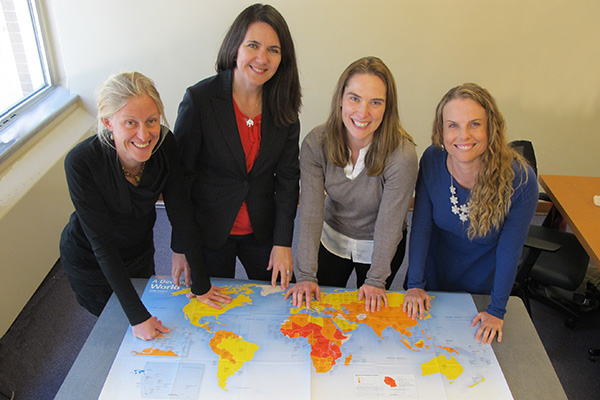 Researchers reach out globally
