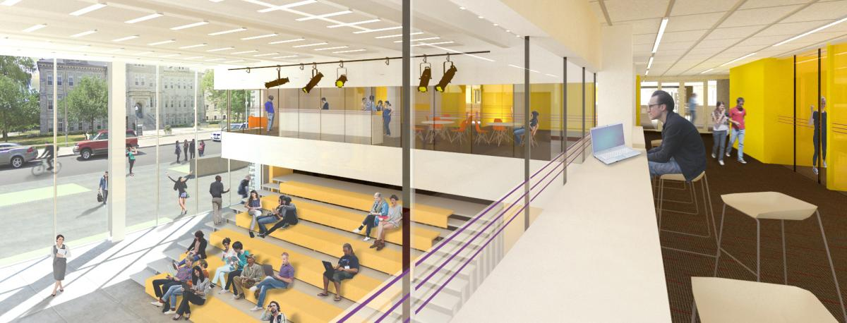 The Innovation and Wellness Centre will feature a common lounge for undergraduate mechanical and materials engineering students, something that they have not had before. (Supplied Photo)