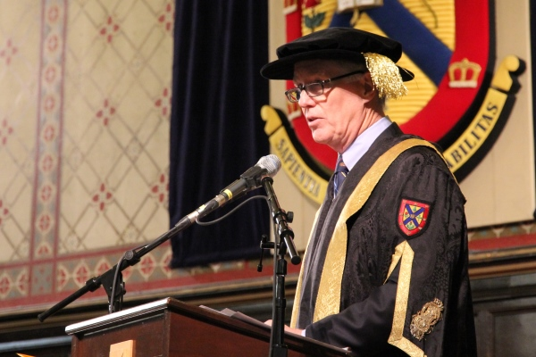 Chancellor Leech Installation