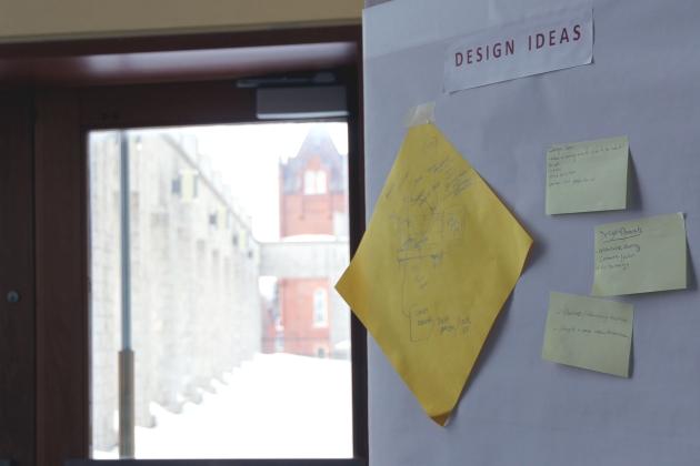 [Design ideas on paper]