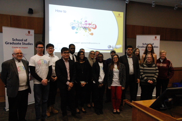 The PhD Community Initiative gave Queen's graduate students the opportunity to partner with community groups to solve real-world problems and apply their skills in new settings.