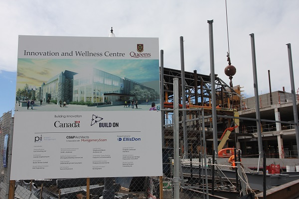In addition to the $20 million from the provincial and federal governments, the Queen's community has collectively raised $65 million in support of this new facility.