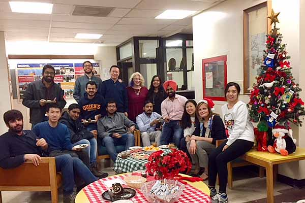 The Queen's University International Centre (QUIC) hosted its annual holiday tea on Tuesday, Dec. 19 at its location in the John Deutsch University Centre (JDUC).