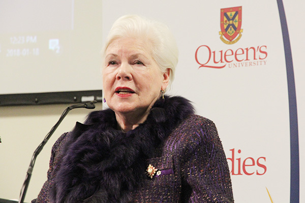 The Honourable Elizabeth Dowdeswell, the Lieutenant Governor of Ontario, delivers the Donald Gow Memorial Lecture.