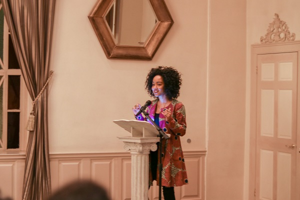 Amanda Parris, CBC television and radio personality, provided the opening keynote for Kingston Black History Month 2018. (Supplied Photo)