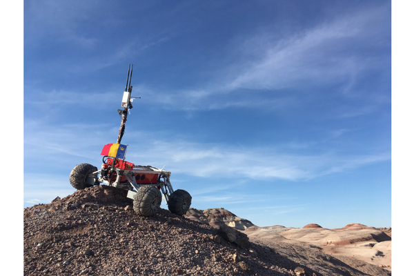 Community Collaborations - Exploring Worlds at Home - Mars Desert Research Station, Utah, James Xie (Undergraduate student, Engineering Chemistry)