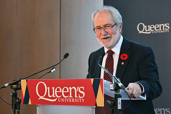 Dr. Patrick Deane announced as  Principal and Vice-Chancellor Designate