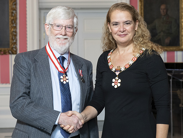 Kerry Rowe promoted to Officer of the Order of Canada