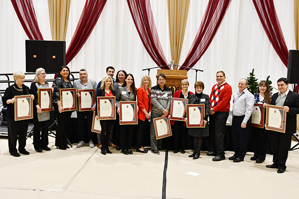 Special Recognition for Staff Awards
