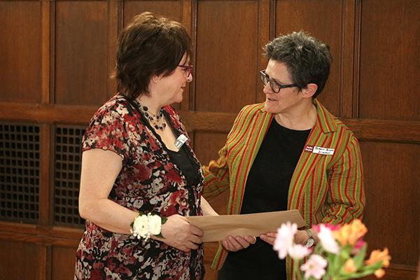 Valerie Moreau and Susan Belyea